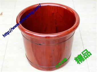 特级香柏木泡脚木桶35CM高